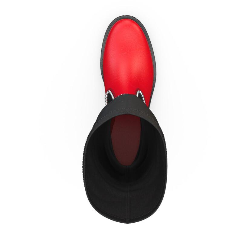 Stretch Overknee Stiefel 3974