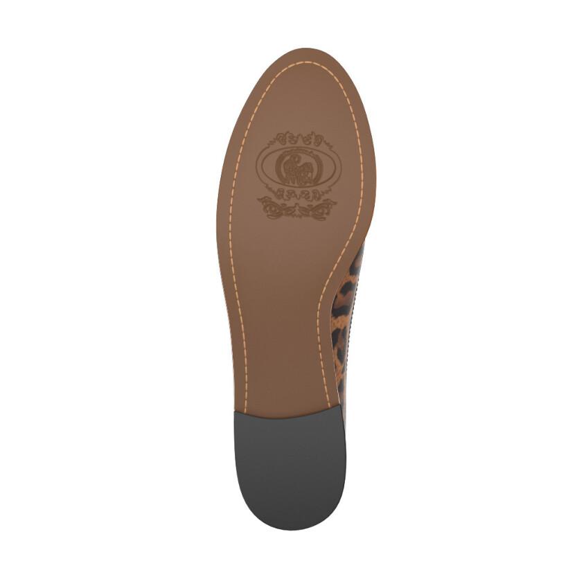 Moderne Slip-Ons mit Leopardenmuster