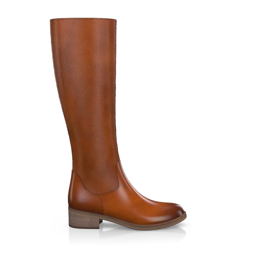 Geprägte Boots 4323