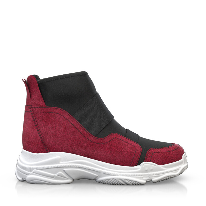 Dehnbare Sneakers mit Chunky Sole 6266