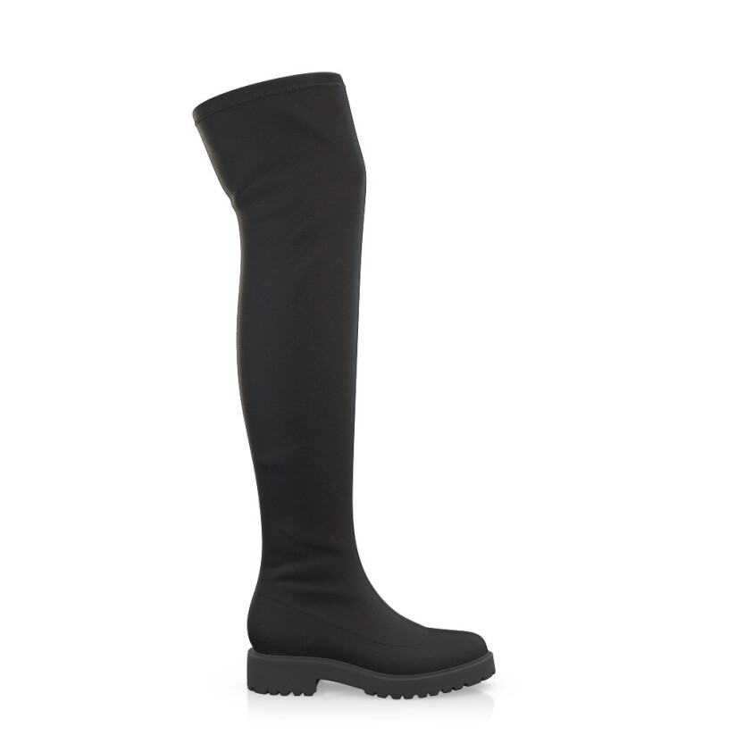 Stretch Overknee Stiefel 9520