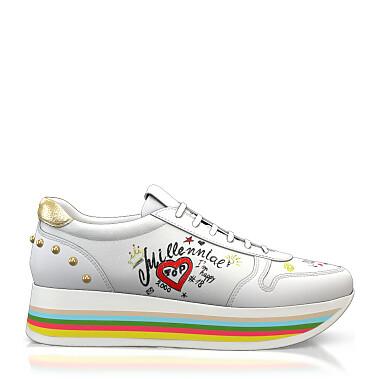 Sohlen in Regenbogenfarben 5392