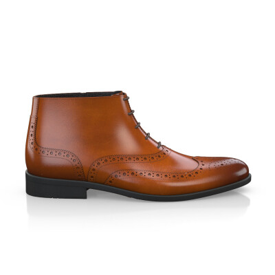 Brogue Ankle Boots für Herren 5494 review
