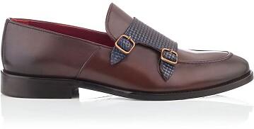 Loafer mit zwei Schnallen für Herren Marco Braun