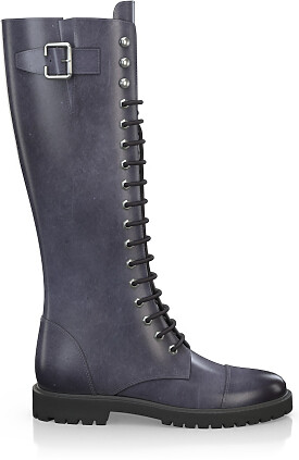 Knee High Schnürstiefel 3268