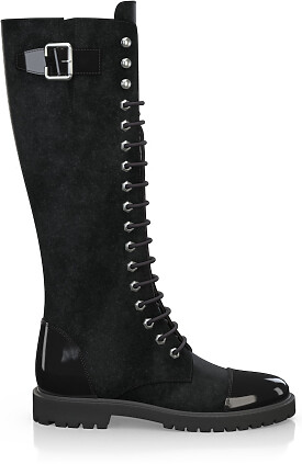 Knee High Schnürstiefel 3276-88