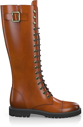 Knee High Schnürstiefel 3275