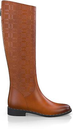 Geprägte Boots 3830
