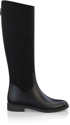 Geprägte Boots 3831