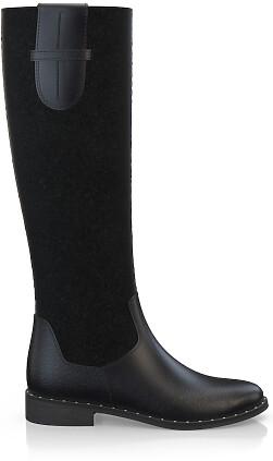 Geprägte Boots 3836