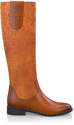 Geprägte Boots 3837