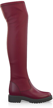 Stretch Overknee Stiefel 3844