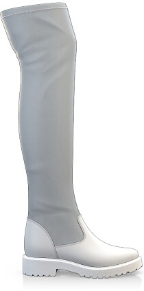 Stretch Overknee Stiefel 3847