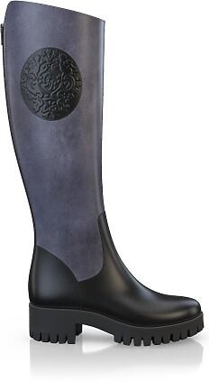 Geprägte Boots 4014