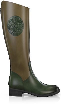 Geprägte Boots 4016