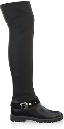 Stretch Overknee Stiefel 4051