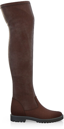 Stretch Overknee Stiefel 4053-87