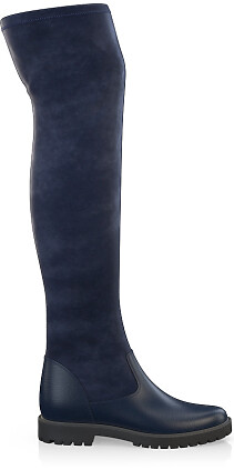 Stretch Overknee Stiefel 4054