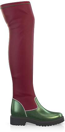 Stretch Overknee Stiefel 4070