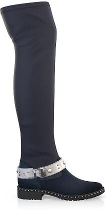 Stretch Overknee Stiefel 4076