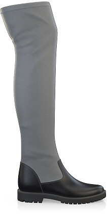 Stretch Overknee Stiefel 4132