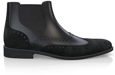 Brogue Ankle Boots für Herren 1865