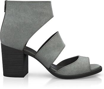 Blockabsatz-Sandalen 4497