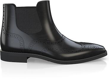 Brogue Ankle Boots für Herren 5897