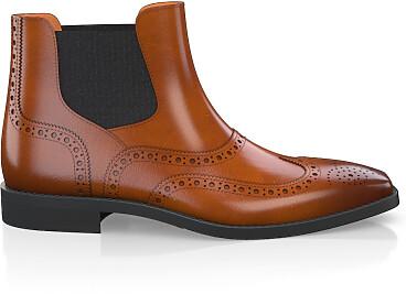 Brogue Ankle Boots für Herren 5899
