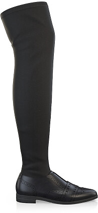 Stretch Overknee Stiefel 6142