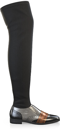 Stretch Overknee Stiefel 6143