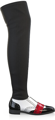 Stretch Overknee Stiefel 6144