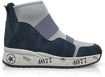 Dehnbare Sneakers mit Chunky Sole 6271