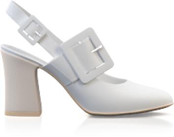 Klassische Block Heel Schuhe