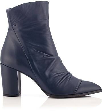 Heels Ankle Boots Viviana - Blue Navy