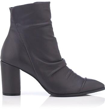 Heels Ankle Boots Viviana - Grau