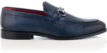 Horsebit-Loafer für Herren Antonio Blau