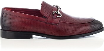 Horsebit-Loafer für Herren Antonio Bordeaux