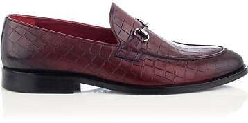 Horsebit-Loafer für Herren Giovanni Bordeaux