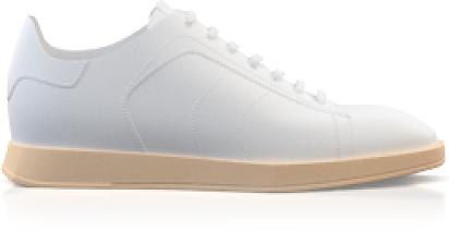 Flache Sneakers mit quadratischer Spitze für Damen