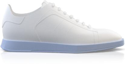 Flache Sneakers mit quadratischer Spitze für Herren