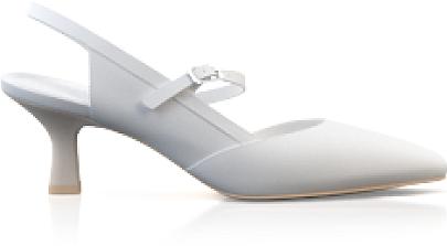 Spitze Schuhe mit mittlerem Absatz