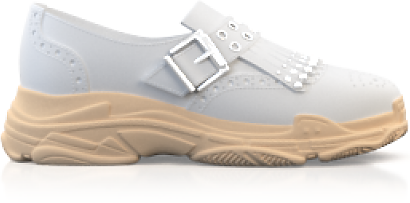 Chunky Sole Brogue Schuhe