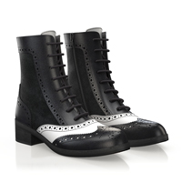BROGUE ANKLE BOOTS 5843