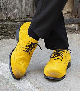 Men's Yellow Shoes