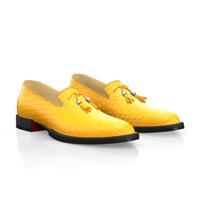 Yellow slip-ons