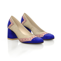 SQUARE HEELED SHOES 7063