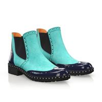 Chelsea boots aqua