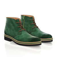 LIGHTWEIGHT MEN`S ANKLE BOOTS 10141