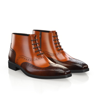 MEN`S BROGUE ANKLE BOOTS 5845
